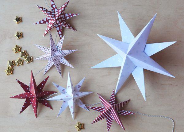Bastelbook Sterne Weihnachten