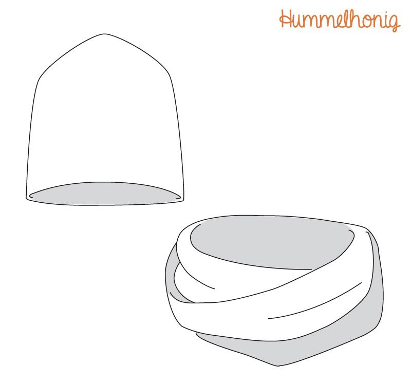 Mütze kostenlos pdf schnittmuster Mütze nähen