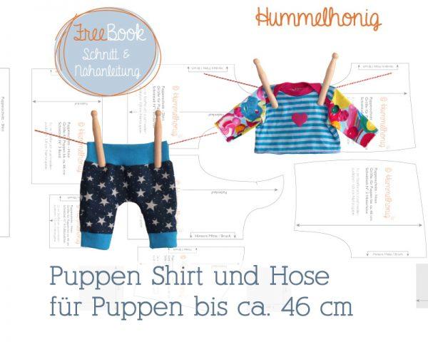 Freebook Puppen Shirt Hose