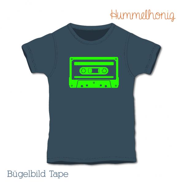 Bügelbild Tape