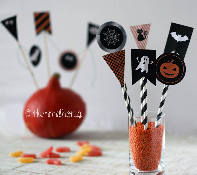 Wimpel-Halloween