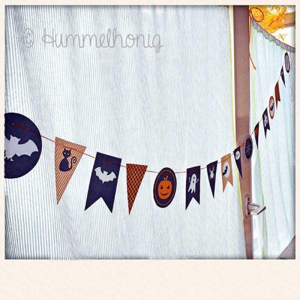 Wimpelkette Halloween