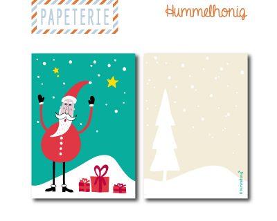 Postkarte Weihnachtsmann
