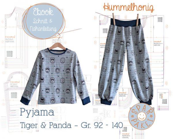 Sparpaket Pyjama weit