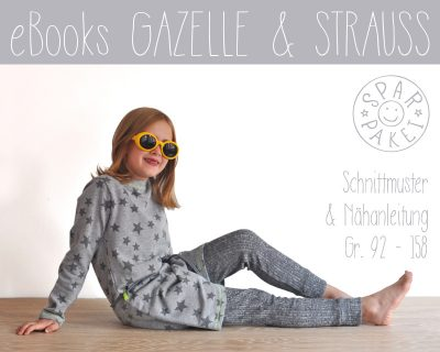 Ebookpaket Leggings Gazelle + Shirt Strauss
