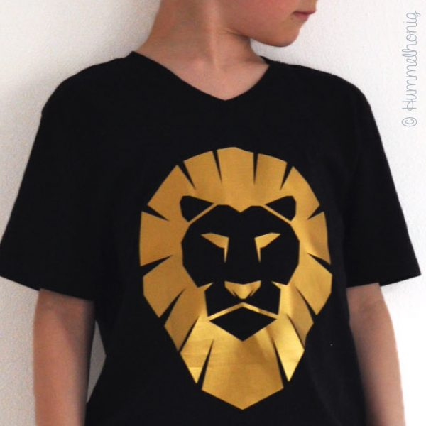 Bügelbild Löwe