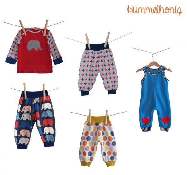 Designbeispiele Papierschnitt Babypaket