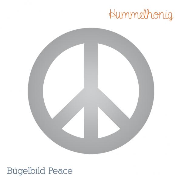 Bügelbild Peace