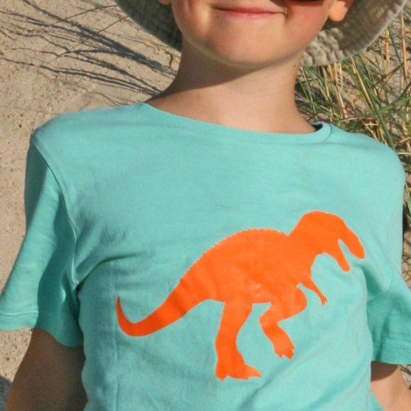 Bügelbild Dino Allosaurus
