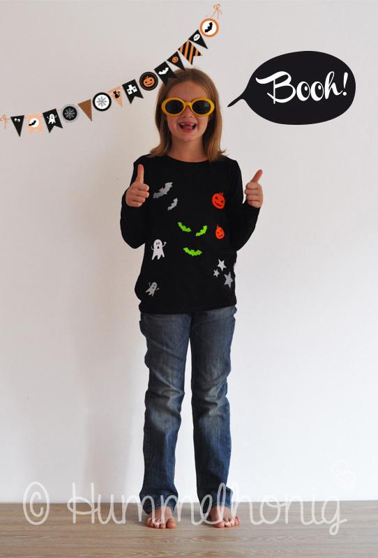 Fertiges Halloween Shirt