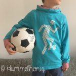Bügelbild Fussballer Designbeispiel2