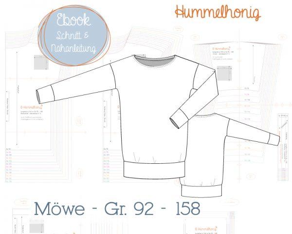 Skizze Longsleeve Möwe