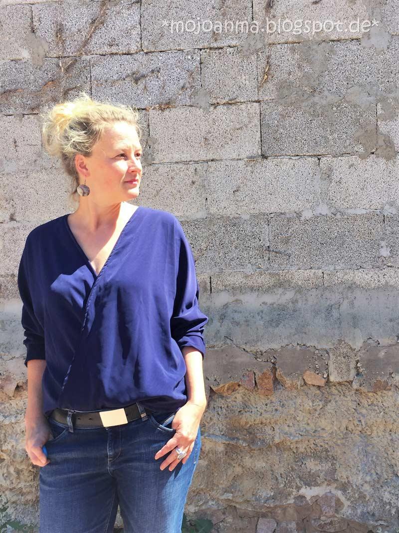 Designbeispiel Damen Bluse Lissabon