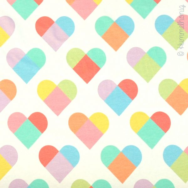 Jersey *Must be Love* Hearts sorbet
