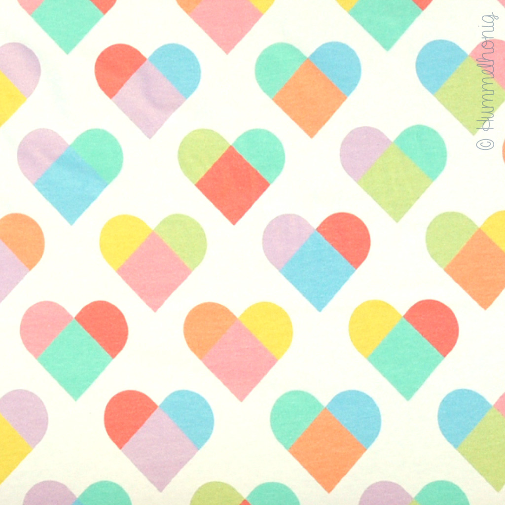 Jersey *Must be Love* Hearts sorbet