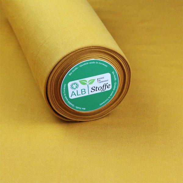 Albstoffe Bündchen senf