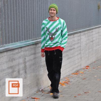 Herren Raglan Sweater Shannon