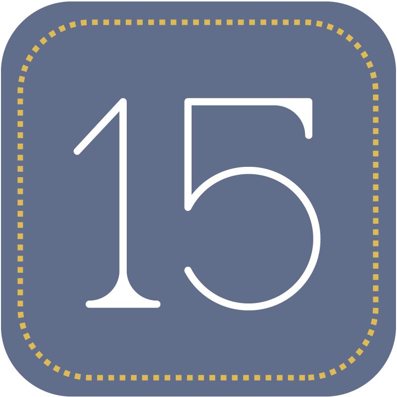 fünfzehn