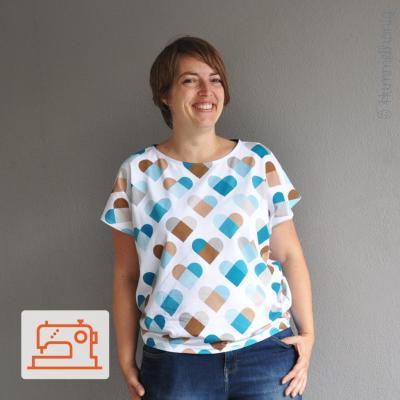 Nähpaket Shirt Sevilla