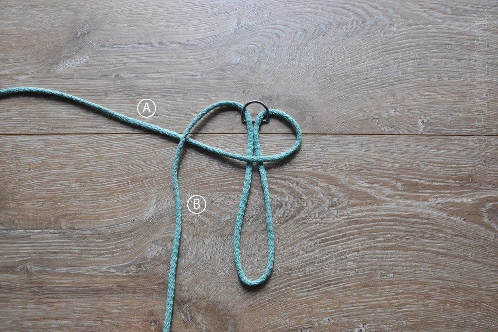 Tutorial Makramee Schlüsselanhänger