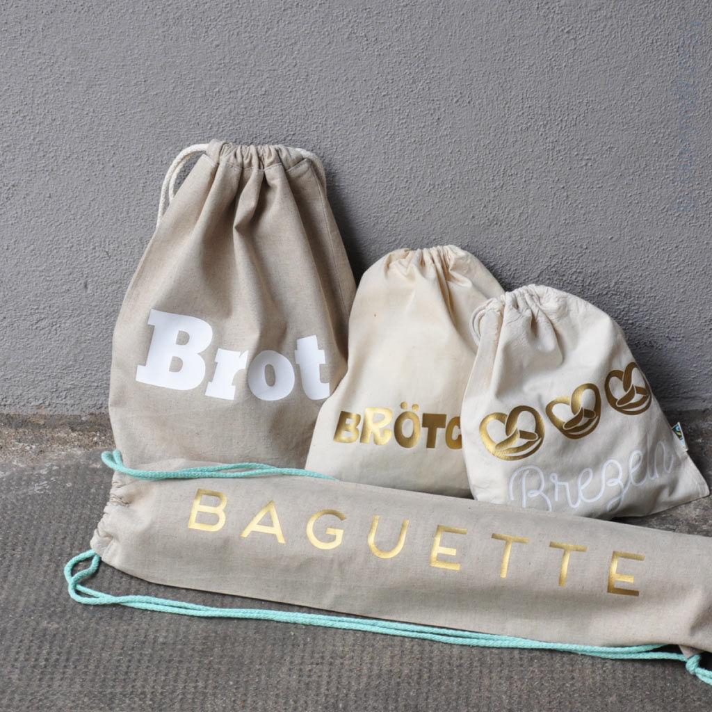 Tutorial: Beutel für Brot, Brötchen & Baguette