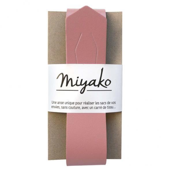 Taschengriff Miyako rosa