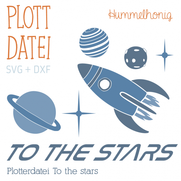 Plotterdatei To the stars
