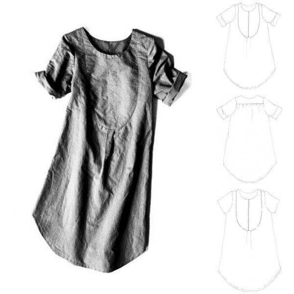 Dress Shirt Schnittmuster Kleid