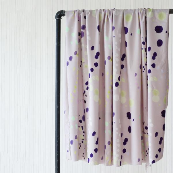 Viskose Twill Splash lavender