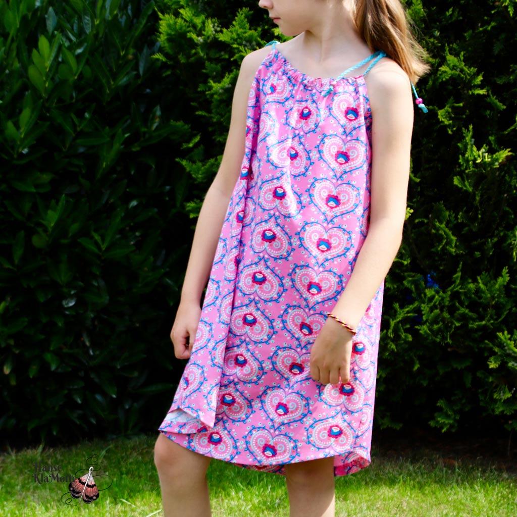 104 kostenlos schnittmuster kleid Mädchenkleid mit