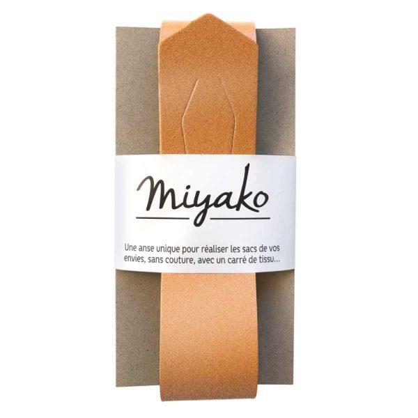 Taschengriff Miyako kupfer