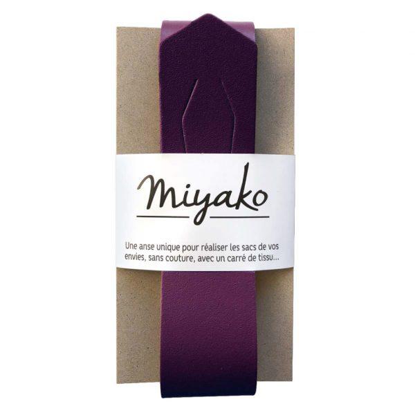 Taschengriff Miyako pflaume