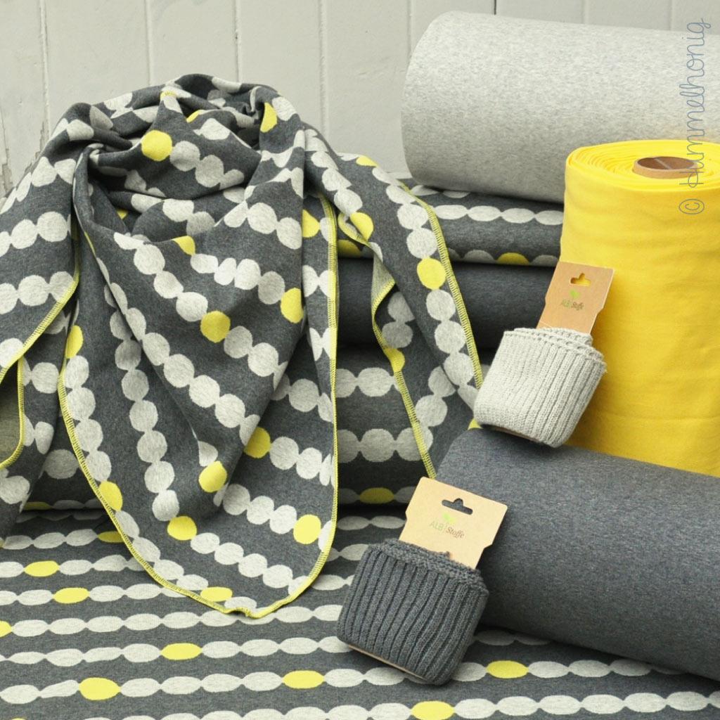 Cozy Dots Konfetti – neue Jacquard-Eigenproduktion