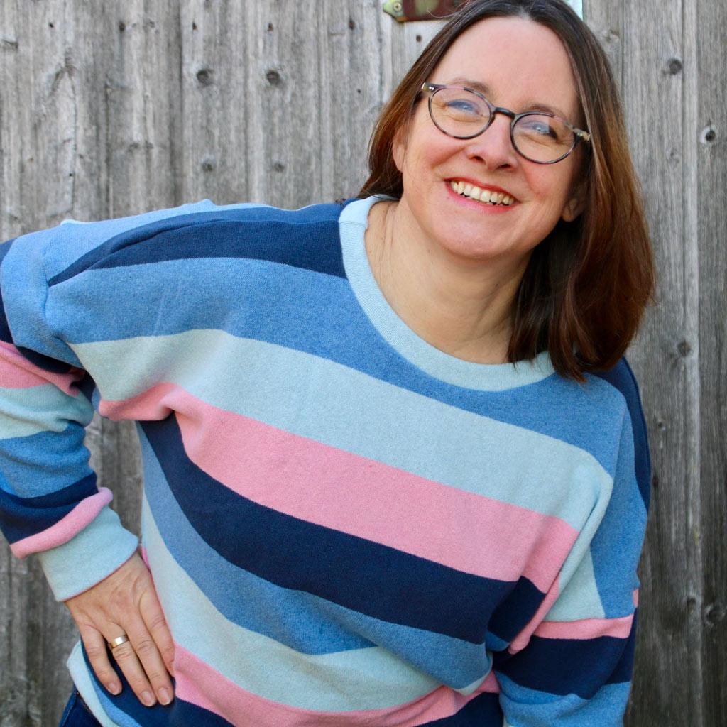 Wohlfühlsweater Skagen – Ebook, Papierschnitt und Nähpaket